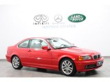 2001 Bright Red BMW 3 Series 330i Coupe #66208181