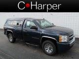 2009 Imperial Blue Metallic Chevrolet Silverado 1500 LS Regular Cab 4x4 #66208162