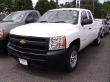 2012 Summit White Chevrolet Silverado 1500 Work Truck Extended Cab #66207394