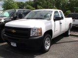 2012 Summit White Chevrolet Silverado 1500 Work Truck Extended Cab #66207392