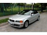 2001 Titanium Silver Metallic BMW 3 Series 325i Convertible #66207777