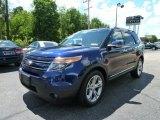 2011 Kona Blue Metallic Ford Explorer Limited 4WD #66207702