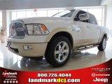 2012 Bright White Dodge Ram 1500 Laramie Longhorn Crew Cab 4x4 #66207686