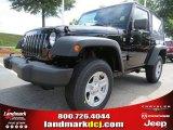 2012 Black Jeep Wrangler Sport 4x4 #66207663
