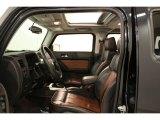 2009 Hummer H3 Alpha Ebony/Morocco Brown Interior