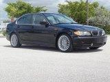2002 Jet Black BMW 3 Series 330i Sedan #66273712