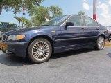 2003 Orient Blue Metallic BMW 3 Series 330xi Sedan #66273691