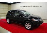 2007 Super Black Nissan Murano S #6565231