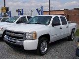 2009 Summit White Chevrolet Silverado 1500 LT Crew Cab 4x4 #6563181
