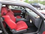 2012 Dodge Challenger SRT8 392 Dark Slate Gray/Radar Red Interior