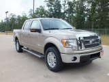 2012 Pale Adobe Metallic Ford F150 Lariat SuperCrew 4x4 #66273640