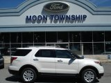 2013 White Platinum Tri-Coat Ford Explorer XLT 4WD #66272940