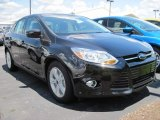 2012 Tuxedo Black Metallic Ford Focus SE Sedan #66273292