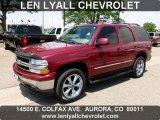 2005 Sport Red Metallic Chevrolet Tahoe LT 4x4 #66272871