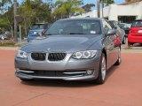 2012 Space Grey Metallic BMW 3 Series 335i Convertible #66272822