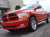 2012 Flame Red Dodge Ram 1500 Express Crew Cab #66272810