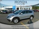 2012 Alabaster Silver Metallic Honda CR-V EX-L 4WD #66273170