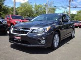 2012 Dark Gray Metallic Subaru Impreza 2.0i Premium 4 Door #66273445