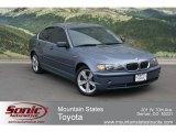 2004 Steel Blue Metallic BMW 3 Series 330xi Sedan #66272695