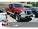 2002 Toreador Red Metallic Ford F250 Super Duty XLT SuperCab 4x4 #66272694