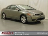 2006 Galaxy Gray Metallic Honda Civic LX Coupe #66273059