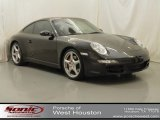 Basalt Black Metallic Porsche 911 in 2008