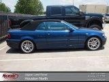 2004 Mystic Blue Metallic BMW 3 Series 330i Convertible #66273005