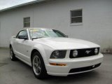 2006 Performance White Ford Mustang GT Premium Convertible #6563647