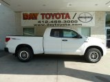 2012 Super White Toyota Tundra TRD Rock Warrior Double Cab 4x4 #66337559