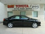 2012 Attitude Black Metallic Toyota Camry SE #66337554