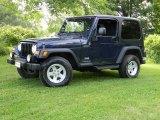 2006 Midnight Blue Pearl Jeep Wrangler Sport 4x4 #66337979