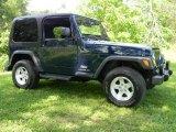2006 Jeep Wrangler Midnight Blue Pearl