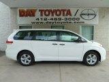 2012 Super White Toyota Sienna  #66337553