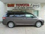 2012 Predawn Gray Mica Toyota Sienna LE AWD #66337552