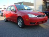 2005 Infra-Red Ford Focus ZX4 S Sedan #66337498
