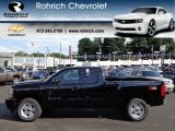 2012 Black Chevrolet Silverado 1500 LTZ Extended Cab 4x4 #66338341