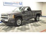 2011 Taupe Gray Metallic Chevrolet Silverado 1500 LS Regular Cab 4x4 #66338278