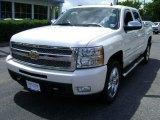 2011 White Diamond Tricoat Chevrolet Silverado 1500 LTZ Crew Cab 4x4 #66337374