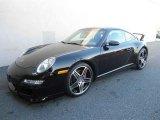 2008 Black Porsche 911 Carrera 4S Coupe #66337795