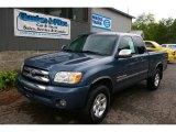 2005 Blue Steel Metallic Toyota Tundra SR5 Access Cab 4x4 #66337783