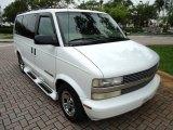1999 Chevrolet Astro LS AWD Passenger Van Front 3/4 View
