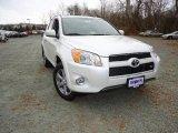 2012 Blizzard White Pearl Toyota RAV4 V6 Limited 4WD #66338105