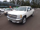 2012 White Diamond Tricoat Chevrolet Silverado 1500 LT Crew Cab #66338100