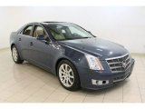 2009 Blue Diamond Tri-Coat Cadillac CTS 4 AWD Sedan #66338096
