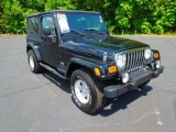 2006 Black Jeep Wrangler Unlimited 4x4 #66338073