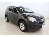 2010 Black Granite Metallic Chevrolet Equinox LT #66338060