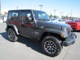 2010 Dark Charcoal Pearl Jeep Wrangler Sport 4x4 #66338017