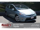 2012 Sea Glass Pearl Toyota Prius 3rd Gen Three Hybrid #66409918
