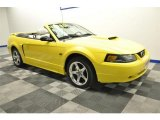 2003 Ford Mustang Zinc Yellow