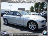 2012 Glacier Silver Metallic BMW 3 Series 328i Sedan #66410065